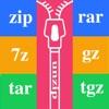 解压大师 - zip,rar,7z,gz 文件解压或文件压缩