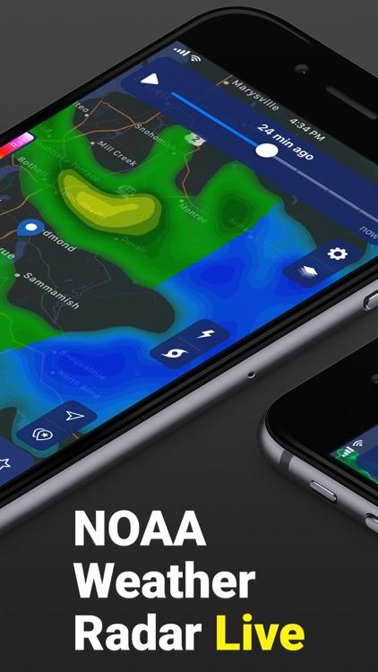 Clime: NOAA Weather Radar Live screenshot-0