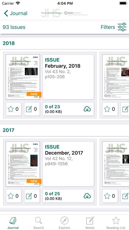 Journal of Hand Surgery screenshot-3