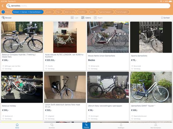 Marktplaats - koop en verkoop iPad app afbeelding 2