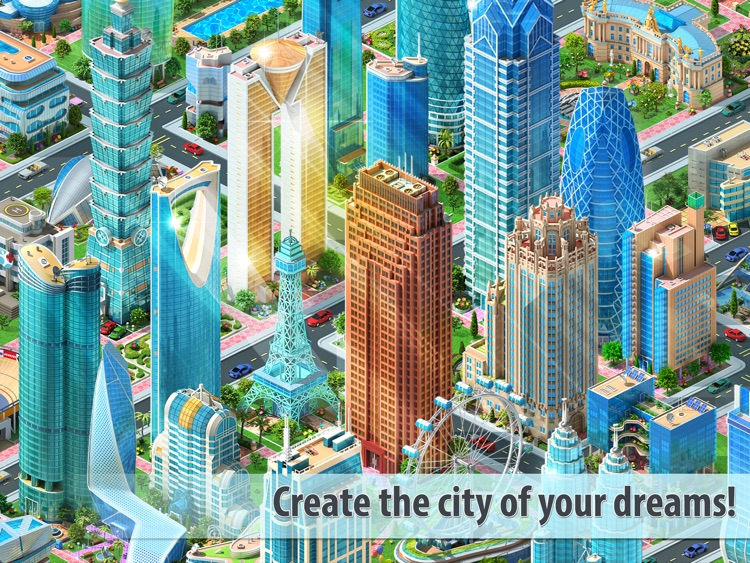 Megapolis HD: city building screenshot-0