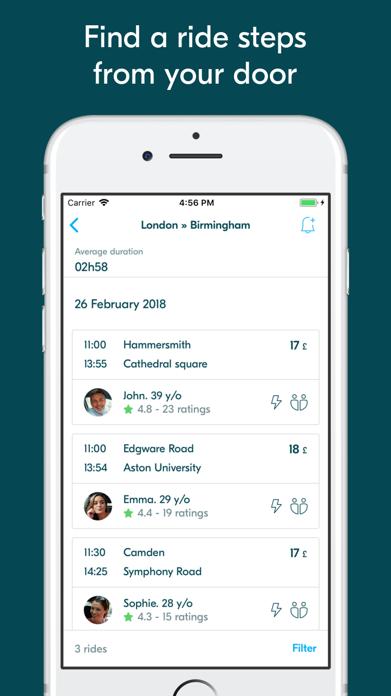 BlaBlaCar - Trusted Carpooling Screenshot