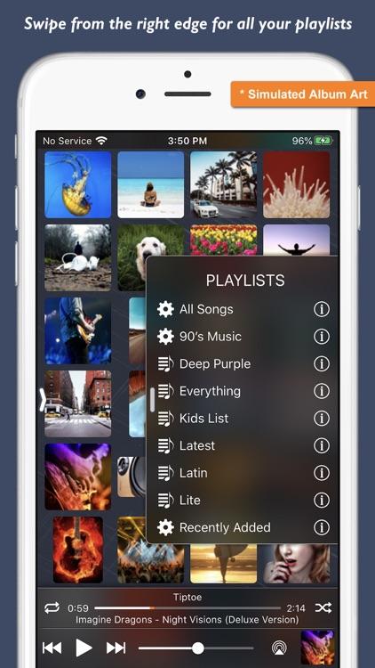 Music Player - Platinum Album screenshot-4