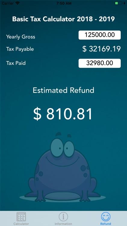 IRD Tax Calc
