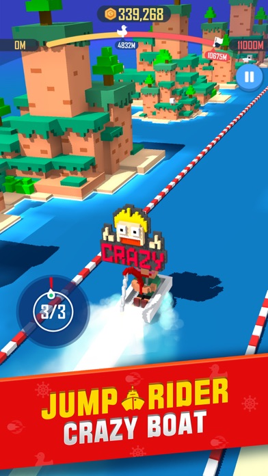 Jump Rider: Crazy Boat screenshot 1