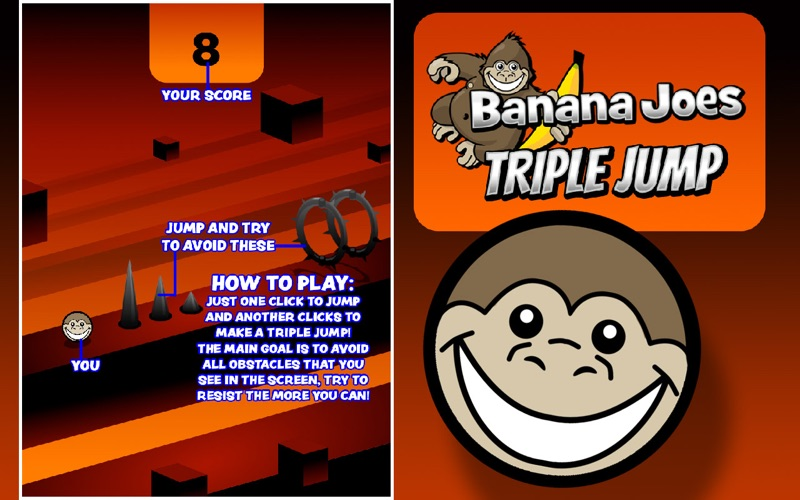 Banana Joes Triple Jump screenshot 3