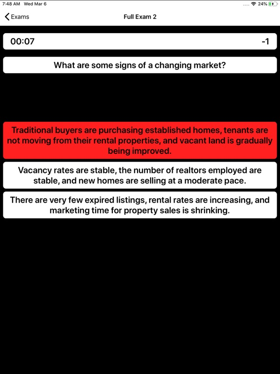 Real Estate Appraiser Exam screenshot 10