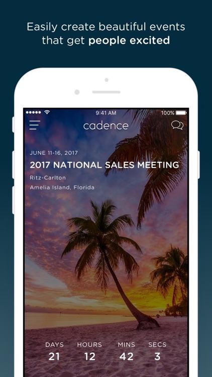 Cadence - Event Experiences