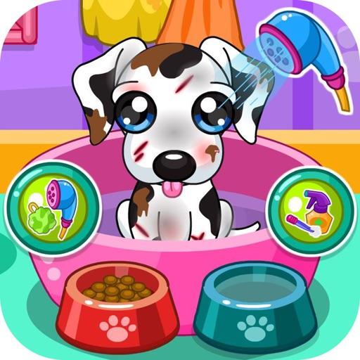 Салон для щенка - ветеринар