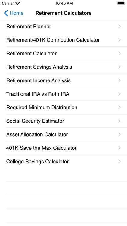 EZ Financial Calculators screenshot-8
