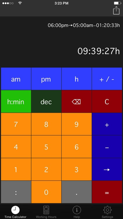 Time.Calc screenshot-4
