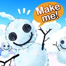 Snow Planet : Make a snowman!