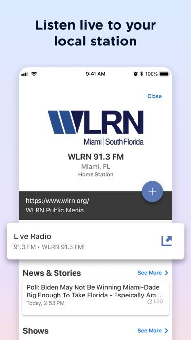 Screenshot #3 pour NPR One