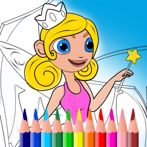 Art Drawing Editor: Color Book iOS App