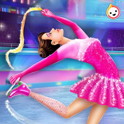 Ice Skating Girl Makeup