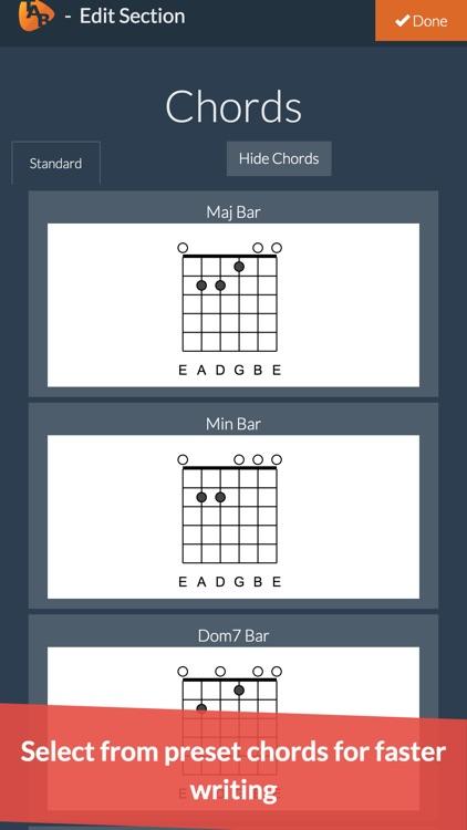 Guitar Notepad - Tab Editor screenshot-5