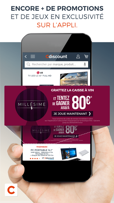 messages.download Cdiscount software