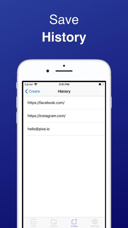 QR Code Reader & Maker Pro screenshot-3