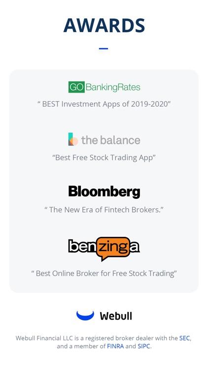 Webull: Investing & Trading screenshot-7