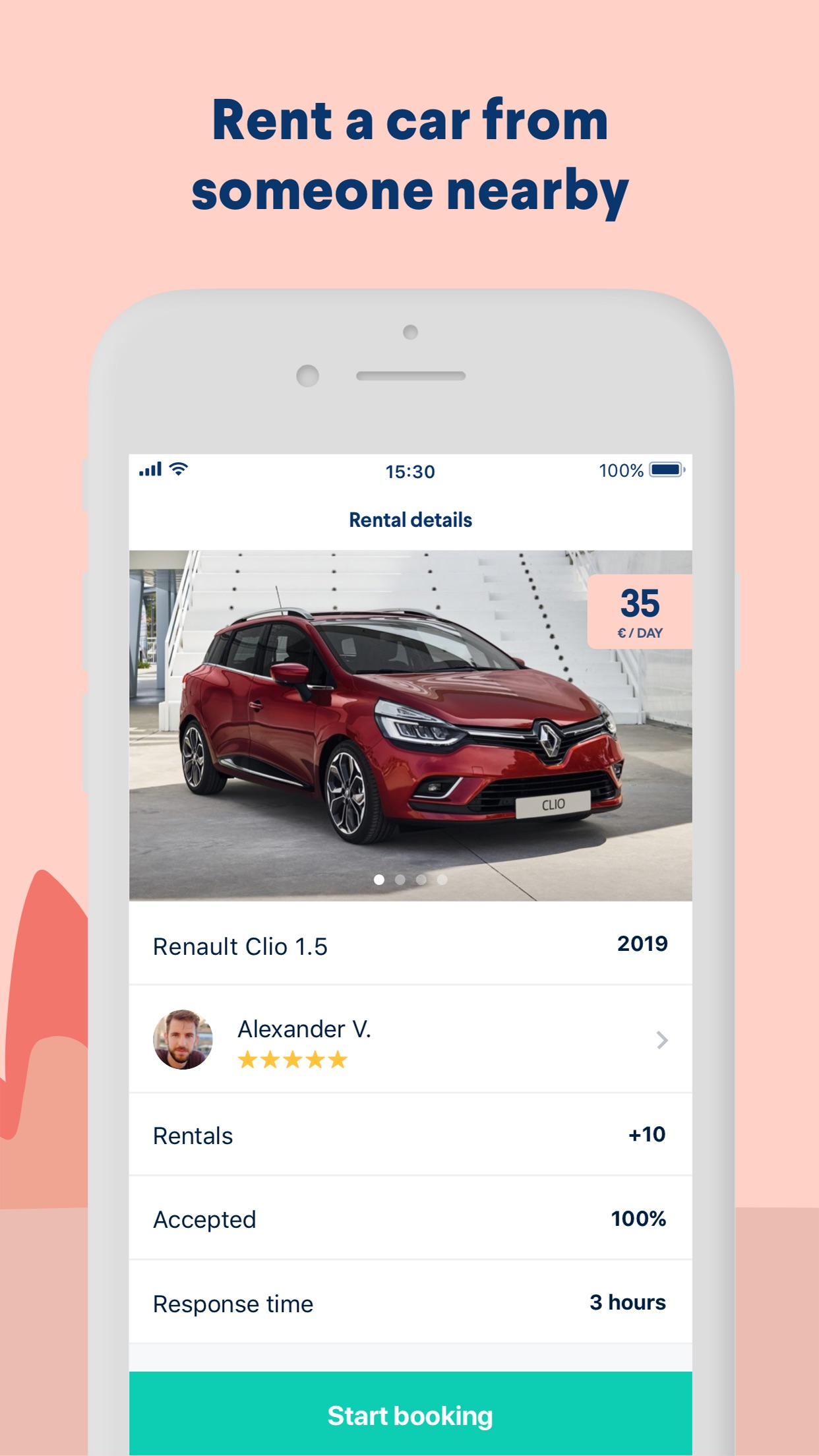 GoMore – rental & ridesharing Screenshot