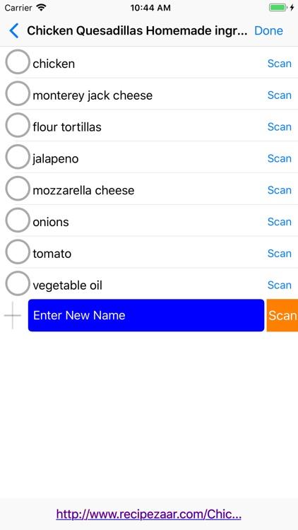 Dinnertime Planner screenshot-3