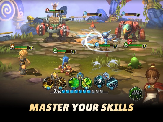 Skylanders™ Ring of Heroes screenshot #4