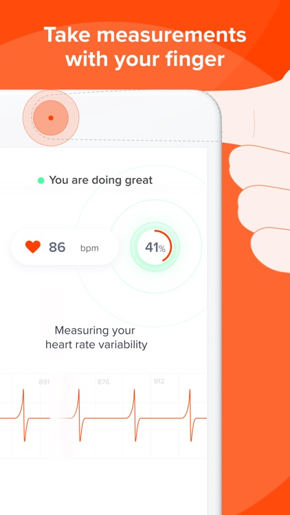 Welltory: stress self care app