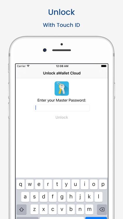 aWallet Cloud Password Manager screenshot-4