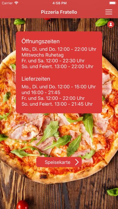 Pizzeria FratelloScreenshot von 1