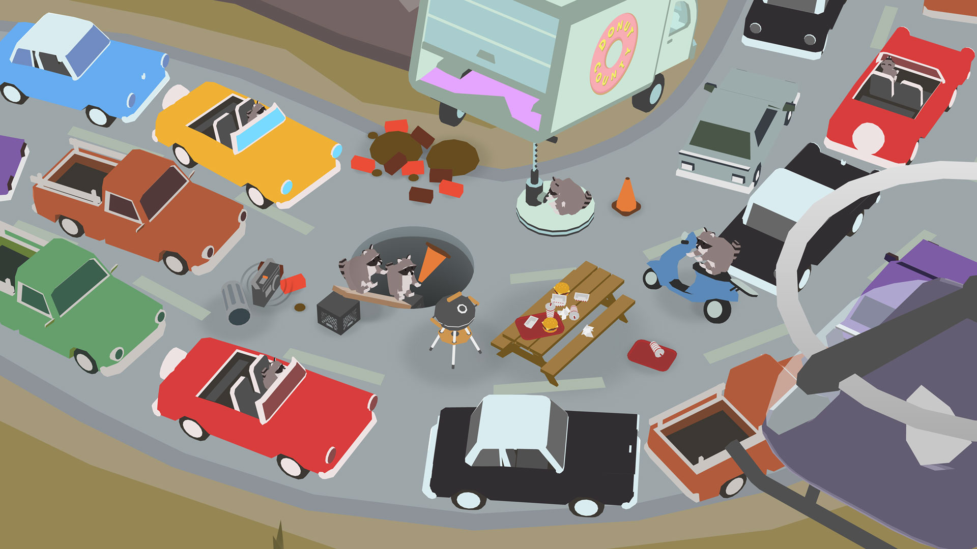 Donut County screenshot 11
