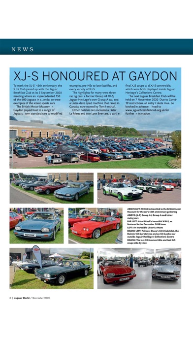 Jaguar World Magazineのおすすめ画像8