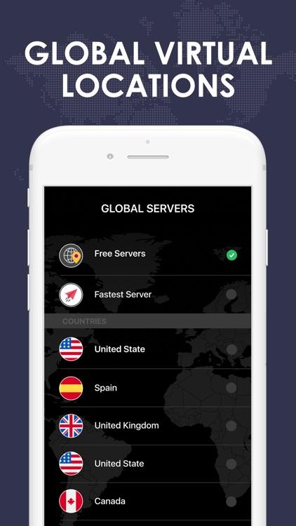 Comet VPN - Secure Wifi Proxy screenshot-7