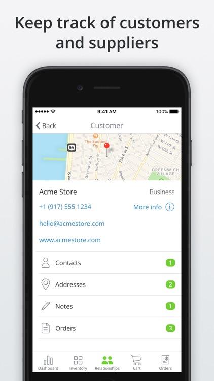 TradeGecko Mobile - Sales app screenshot-3