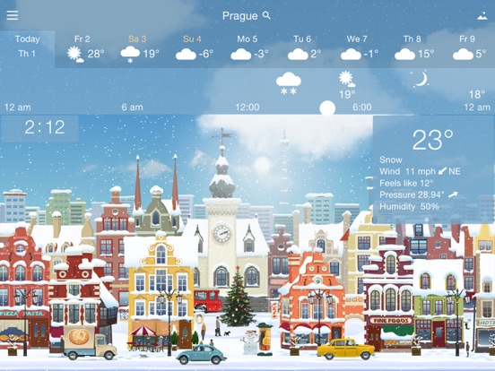 Screenshot #4 for YoWindow Weather