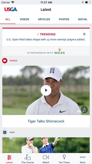 Us Open Golf Championship review screenshots