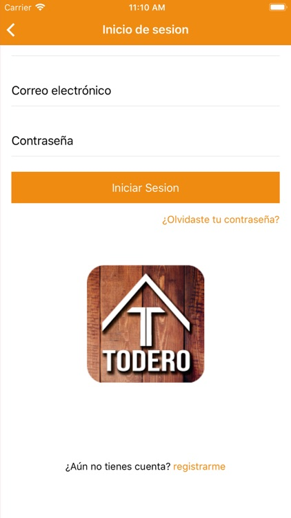 Todero App screenshot-1