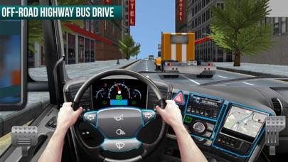City Coach Bus Driving HW screenshot one