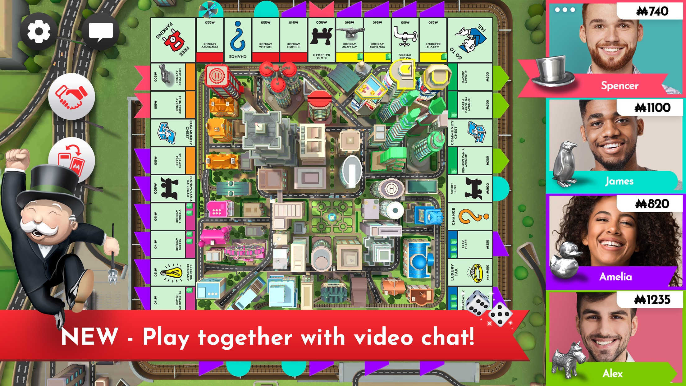 Screenshot do app Monopoly