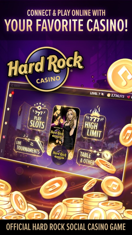 Hard Rock Social Casino screenshot-0