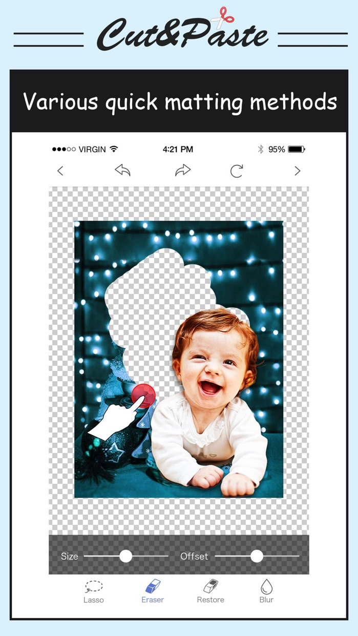Cut & Paste Photo Blender Screenshot