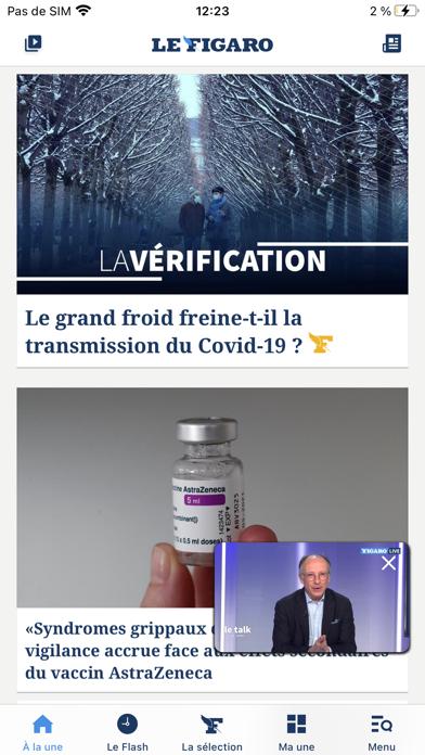 Le Figaro : Actualités et Infoのおすすめ画像1