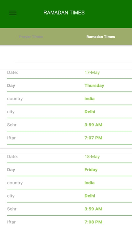 Ramadan Times Finder 2018 screenshot-3