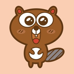 Beaver Sticker Emojis