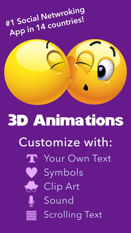 3D Animations + Emoji Icons