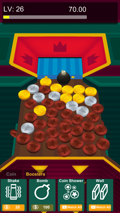 Crazy Coin Pusher Screenshot