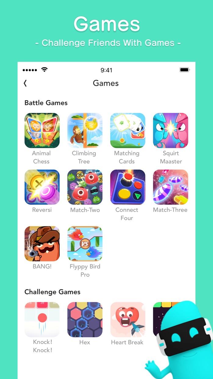 BOO!-Next Generation Messenger Screenshot