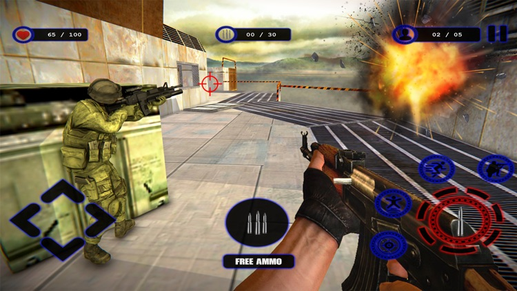 Special Forces Commando Shoot screenshot-4
