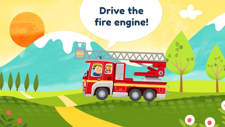 Little Fire Station For Kids