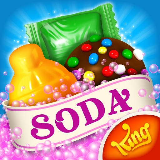 Candy Crush Soda Saga application logo