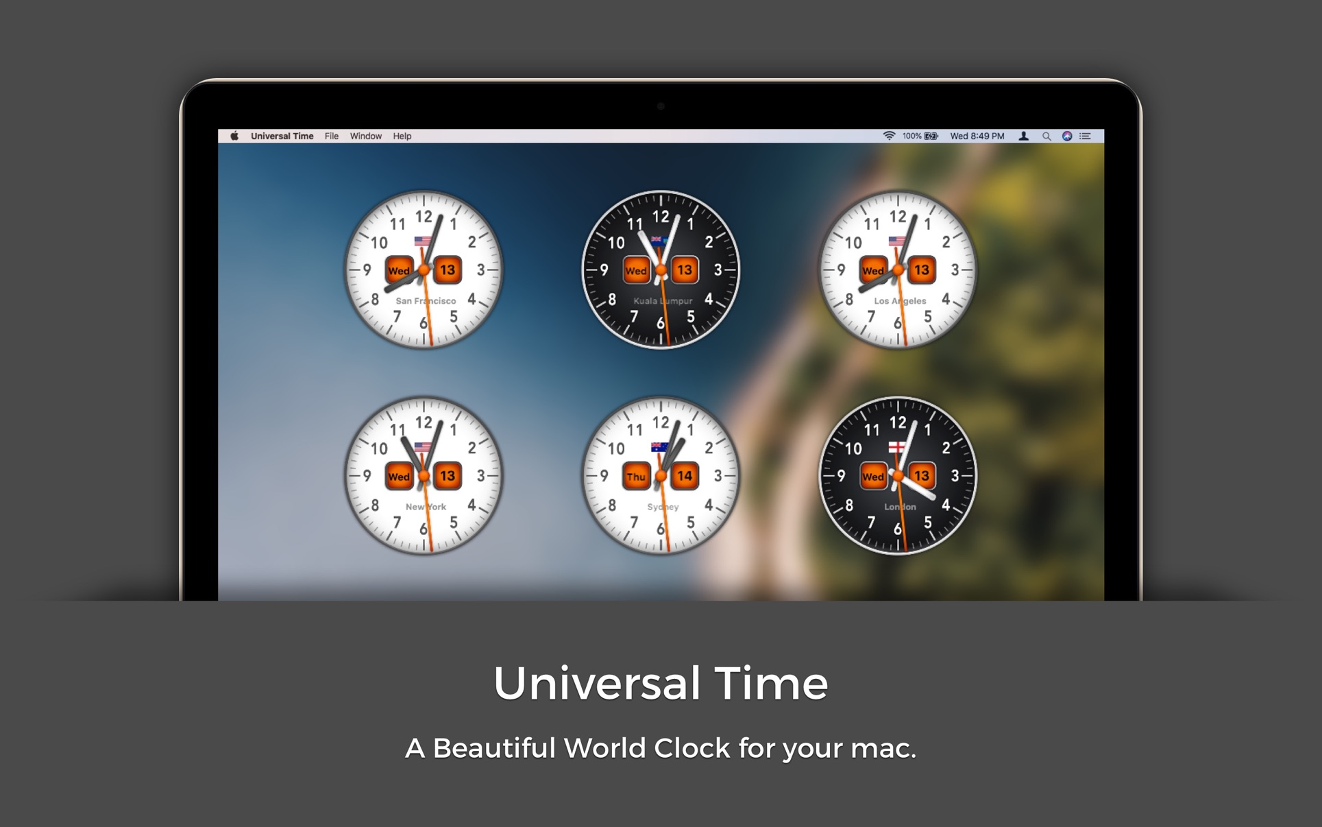 ‎Universal Time on the Mac App Store
